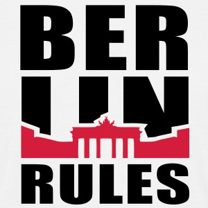 BERLIN RULES Brandenburger Tor T-Shirt 2C BR - Männer T-Shirt