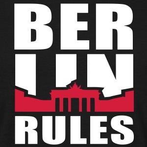 BERLIN RULES Brandenburger Tor T-Shirt 2C WR - Men's T-Shirt