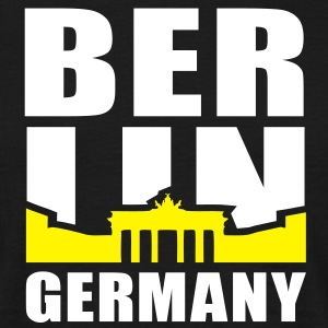 BERLIN GERMANY Brandenburger Tor T-Shirt 2C WY - T-shirt Homme