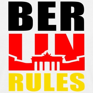 BERLIN RULES Brandenburger Tor T-Shirt - T-shirt Homme