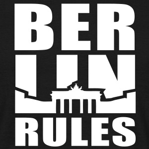BERLIN RULES Brandenburger Tor T-Shirt UNI WB - Männer T-Shirt