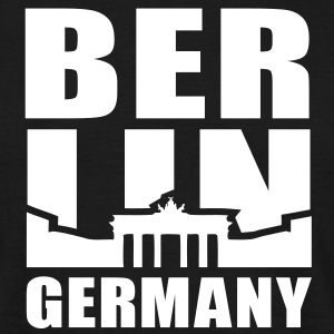 BERLIN GERMANY Brandenburger Tor T-Shirt UNI WB - Männer T-Shirt