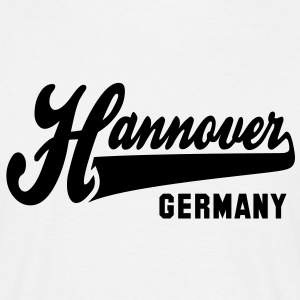 CITY Hannover GERMANY T-Shirt BW - Männer T-Shirt