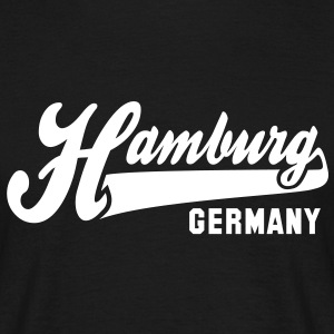 CITY Hamburg GERMANY T-Shirt WB - Männer T-Shirt