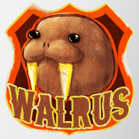 Design ~ Walrus Shield Mug