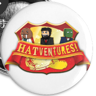 Design ~ Hatventures Trio Shield Medium Button