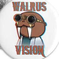 Design ~ Walrus Vision Medium Button