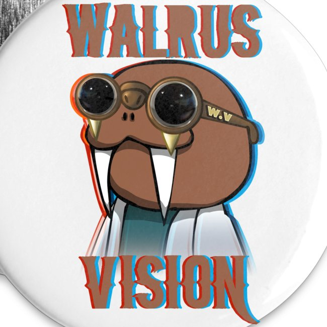Walrus Vision Medium Button