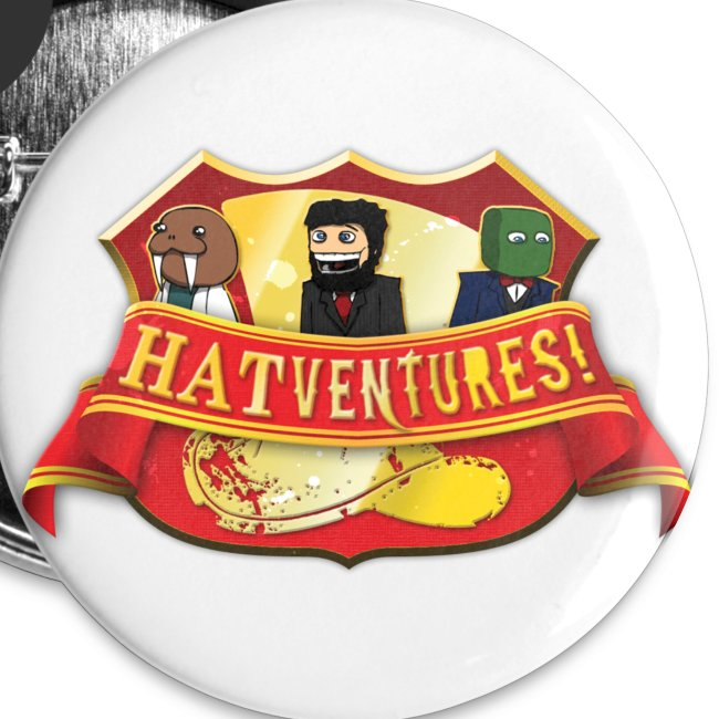 Hatventures Trio Shield Large Button