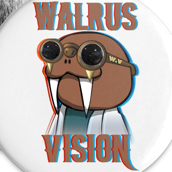 Walrus Vision Large Button