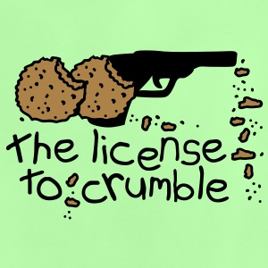 the license to crumble Babyskjorter - Baby-T-skjorte