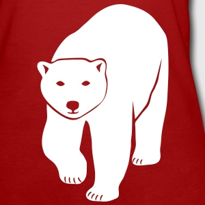 polar bear ice black white penguin knut climate change stop global warming T-Shirts - Women's Organic T-shirt