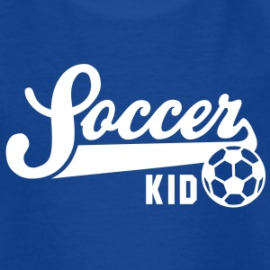 Soccer KID Kinder T-shirt WB - Kinderen T-shirt