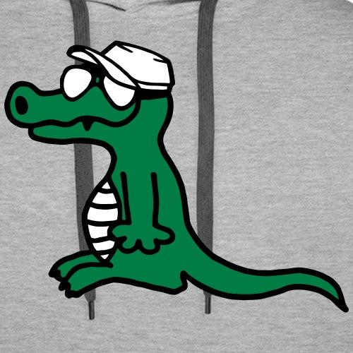 cooles Krokodil Skate Stile