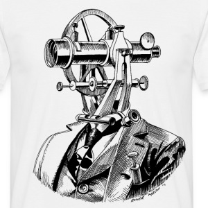 Theodolite Head T - Men's T-Shirt