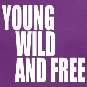Young Wild and Free III T-Shirts - Frauen Kontrast-T-Shirt