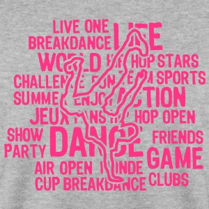 breakdance hiphop4 texte mots Sweat-shirts - Sweat-shirt Homme