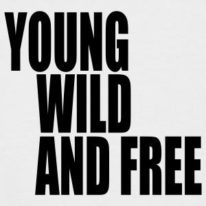 Young Wild and Free III T-Shirts - Männer Baseball-T-Shirt