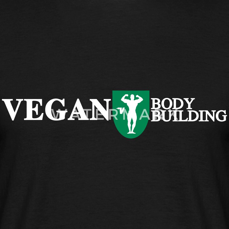 Vegan Bodybuilding - T-shirt Homme