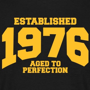 aged to perfection established 1976 (fr) Tee shirts - T-shirt Homme