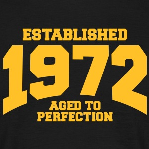 aged to perfection established 1972 (fr) Tee shirts - T-shirt Homme