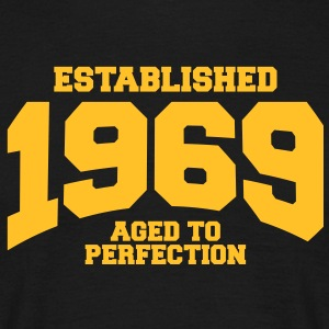 aged to perfection established 1969 (uk) T-Shirts - Men's T-Shirt