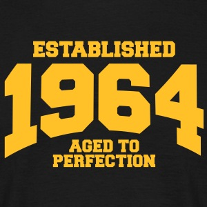 aged to perfection established 1964 (uk) T-Shirts - Men's T-Shirt