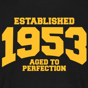 aged to perfection established 1953 (uk) T-Shirts - Men's T-Shirt