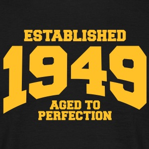 aged to perfection Geburtstag - established 1949 ( - Männer T-Shirt