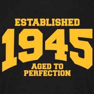 aged to perfection established 1945 (it) T-shirt - Maglietta da uomo