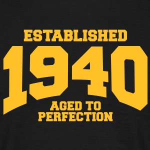 aged to perfection established 1940 (fr) Tee shirts - T-shirt Homme