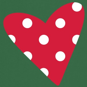 A small dotted heart  Aprons - Cooking Apron