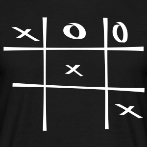 Tic tac toe spiel - Men's T-Shirt
