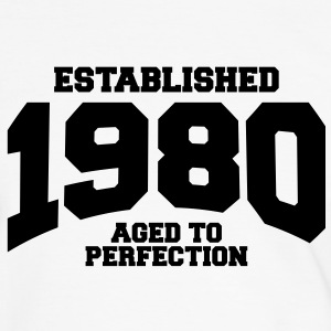 aged to perfection established 1980 (fr) Tee shirts - T-shirt contraste Homme