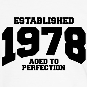 aged to perfection established 1978 (fr) Tee shirts - T-shirt contraste Homme