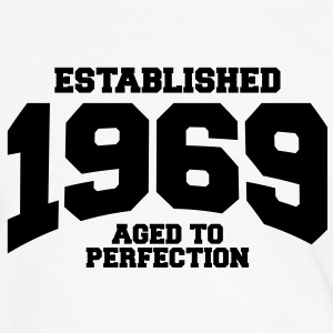aged to perfection established 1969 (nl) T-shirts - Mannen contrastshirt
