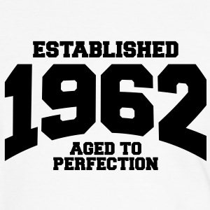 aged to perfection established 1962 (es) Camisetas - Camiseta contraste hombre