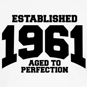 aged to perfection established 1961 (it) T-shirt - Maglietta Contrast da uomo