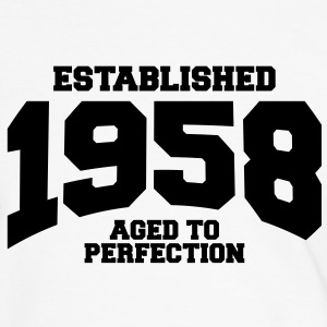 aged to perfection established 1958 (fr) Tee shirts - T-shirt contraste Homme