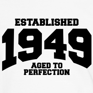 aged to perfection established 1949 (nl) T-shirts - Mannen contrastshirt