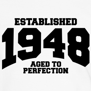 aged to perfection established 1948 (nl) T-shirts - Mannen contrastshirt
