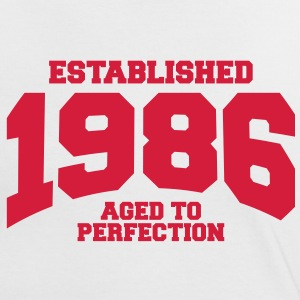 aged to perfection established 1986 (uk) T-Shirts - Women's Ringer T-Shirt