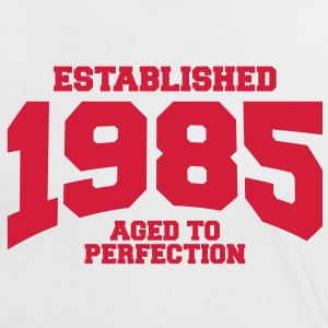 aged to perfection established 1985 (es) Camisetas - Camiseta contraste mujer