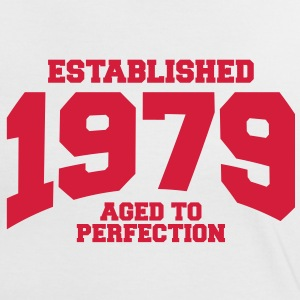 aged to perfection Geburtstag - established 1979 ( - Frauen Kontrast-T-Shirt
