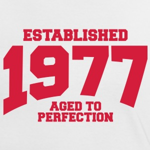 aged to perfection established 1977 (fr) Tee shirts - T-shirt contraste Femme