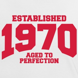aged to perfection established 1970 (uk) T-Shirts - Women's Ringer T-Shirt
