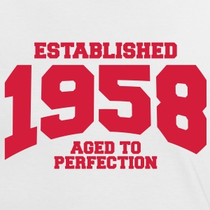 aged to perfection established 1958 (fr) Tee shirts - T-shirt contraste Femme