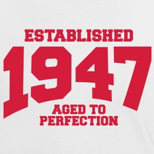 aged to perfection established 1947 (uk) T-Shirts - Women's Ringer T-Shirt