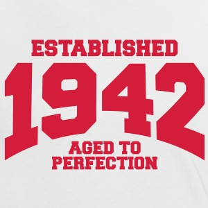 aged to perfection established 1942 (fr) Tee shirts - T-shirt contraste Femme