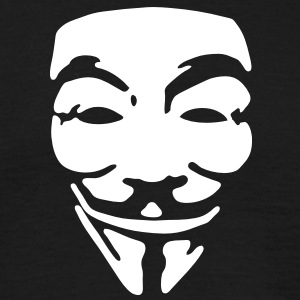 GUY FAWKES, anonymous T-shirt - Maglietta da uomo